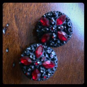 RJ Graziano clip on earrings